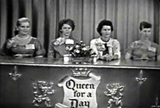 About Queen for a Day :: One of the most popular TV shows ever!